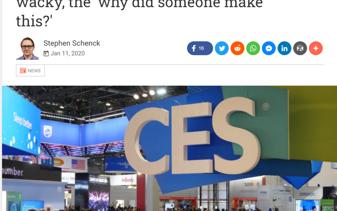 Android Police: Weird CES 2020