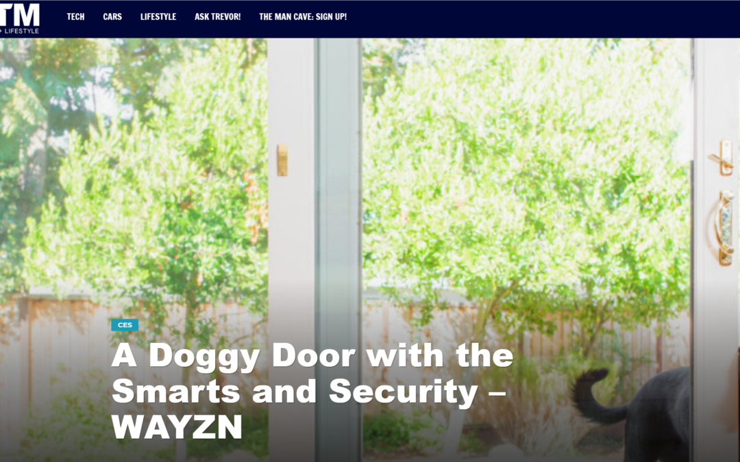 EFTM: A Doggy Door with the Smarts and Security