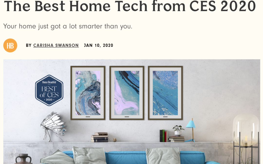 House Beautiful: The Best Home Tech from CES 2020