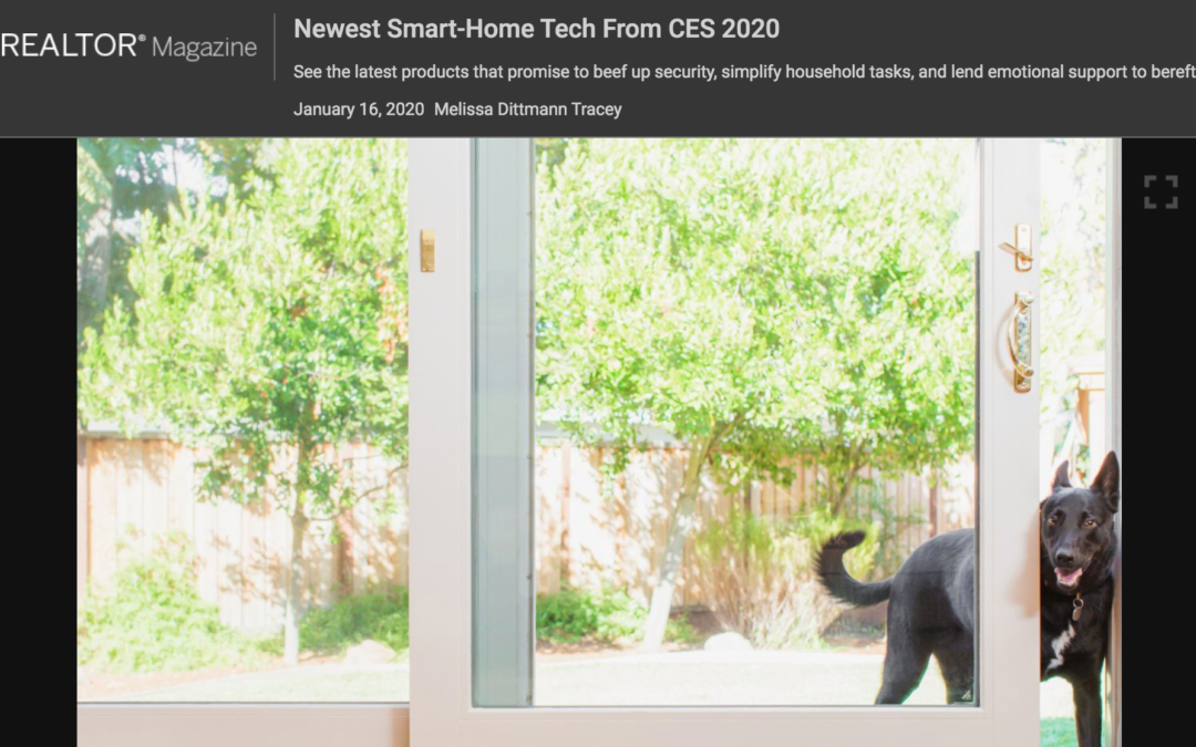 Realtor Magazine : Newest Smart-Home Tech from CES 2020