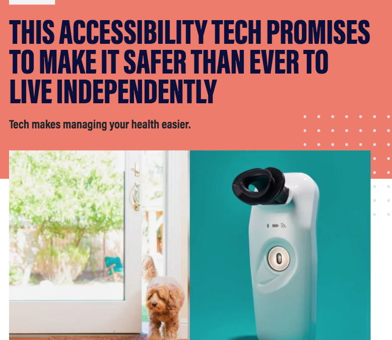 USA Today's Reviewed.com Features Wayzn on Their List of Accessibility Tech That Makes Living Independently Safer