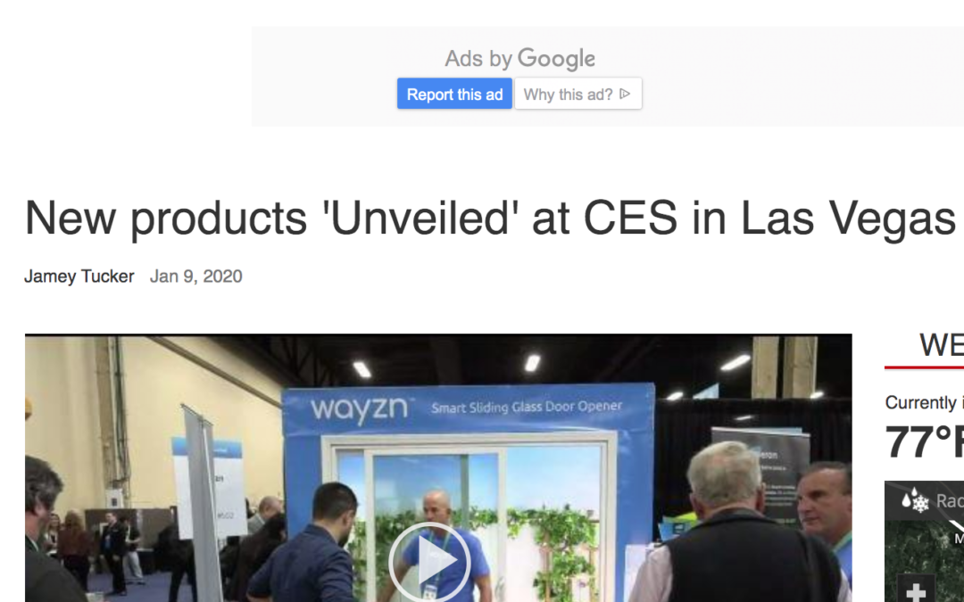WPSD Local: New products 'Unveiled' at CES in Las Vegas