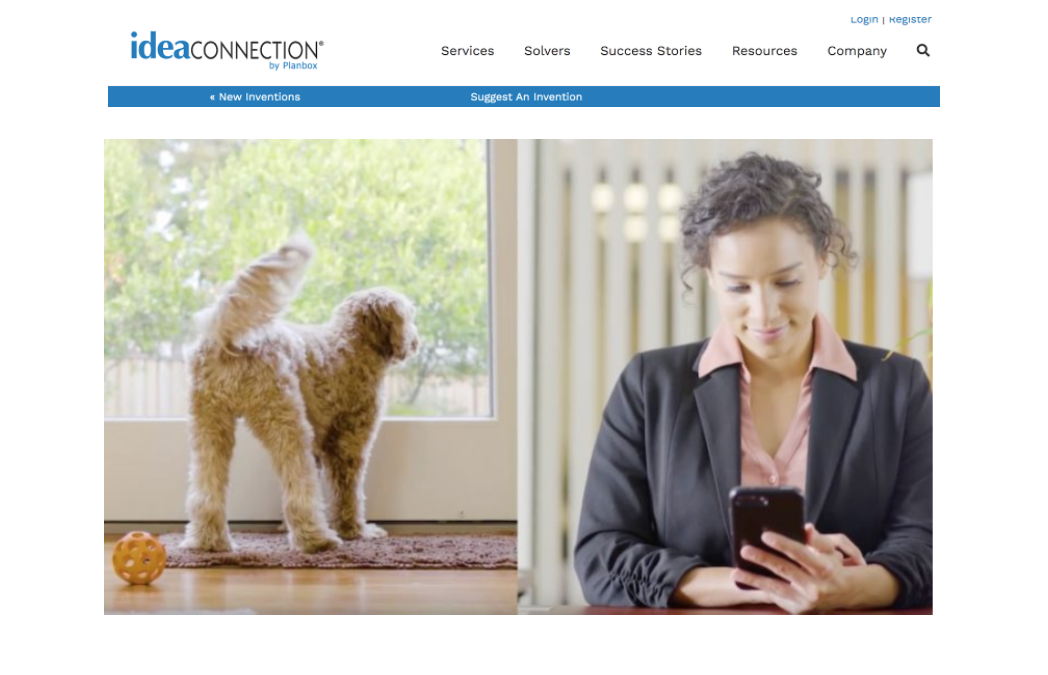 IdeaConnection: Wayzn Lets Your Pets In and Out