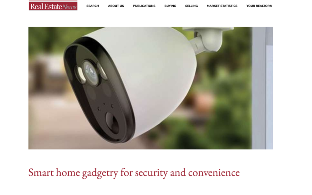 Winnipeg Real Estate News: Smart home gadgetry for security and convenience